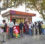 Kiosk selling panisse in L'Estaque