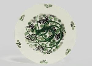 SuzanneLalique-Haviland+Plate+1925-exposition+MDAD-Paris