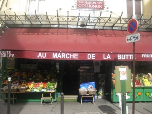 Without our Greeter, we wouldn't have known this was the shop in 'Amelie'