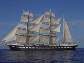 See the Belem, one of the oldest sailing ships afloat, on Saturday and Sunday in Marseille