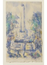 fountain by cezanne