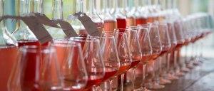 Rose-glasses-and-bottles-Mirabeau-Blending-2013