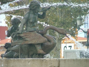 aix fountain detail