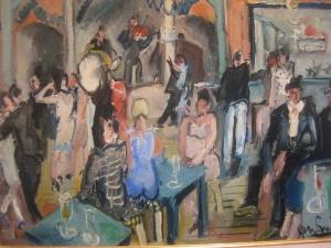 Bal du Moulin de la Galette, Gen Paul, 1925