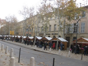Aix christmas market