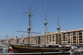 The three-masted ship, became a restaurant after 80 years at sea