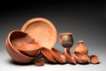 Tableware from a Roman feast