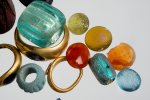 Rings and decorative stones found in Aix