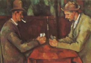 The Card Players from the Louvre was one of the stolen works. (A similar version sold for 250m$ last year.)