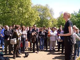 Speakers Corner in London - do we still have the right to free speech?