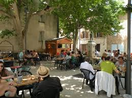 This little restaurant in Puyloubier is pure Provence.