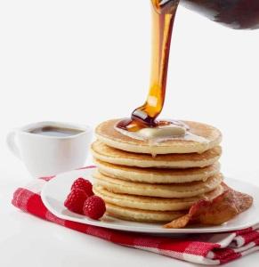 Pancake stack photo