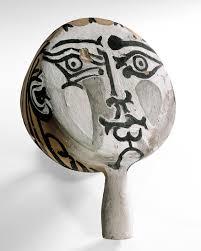 Visage IV, Vallouris, Picasso
