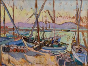 Marine a Saint-Tropez, Jean Puy, 1906
