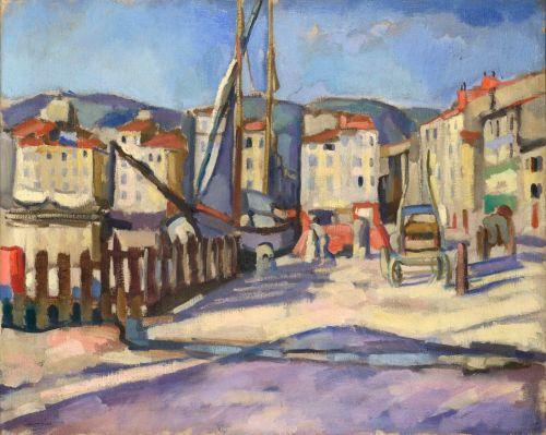 Port de Cassis 1905 (photo Jean-Louis Losi, c. ADAGP Paris 2016)