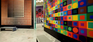 At the Fondation Vasarely