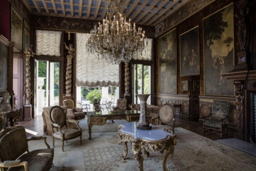 Old Mansion Based In 35 Acres Of Saint Jean Cap Ferrat It Has 14 Bedrooms And Incredibly Ornate Reception Areas Used To Be Owned By King Leopold